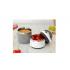 Kiokids, Ανοξείδωτος Θερμός Φαγητού με 2 Επίπεδα, Γκρι, 2837, 930ml.