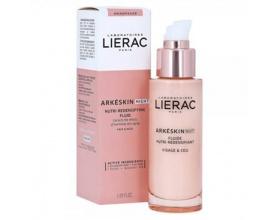 Lierac Arkeskin Night Nutri-Redensifying Fluid Λεπτόρευστη Κρέμα Νύχτας για Θρέψη & Επαναπύκνωση Προσώπου & Ντεκολτέ, 50ml