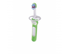 Mam Baby's Brush 606, Βρεφική Μαλακή Οδοντόβουρτσα 6+m, Χρώμα Πράσινο, 1τμχ