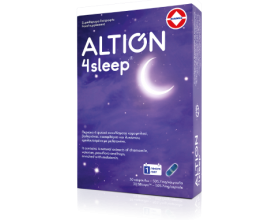 Altion 4 Sleep Συμπλήρωμα Διατροφής για Βελτίωση της Ποιότητας του Ύπνου, 30Caps