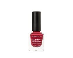 Korres Gel Effect Nail Colour 52 Eternity Red Rose, 11ml