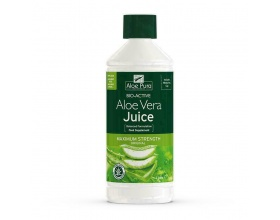 Iso Plus Optima Aloe Vera Juice Maximum Strength 1 Lt, 100% Φυσικός Χυμός Αloe Vera