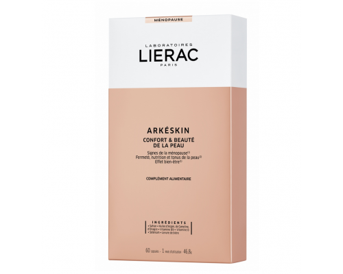 Lierac Arkeskin Comfort & Beauty Συμπλήρωμα Διατροφής για Όμορφη Επιδερμίδα, 60caps