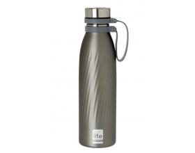 Ecolife Thermos Bottle, Ανοξείδωτο Παγούρι Θερμός, Cool Grey, 500ml.