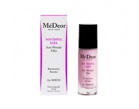 MeDeor Youthful Eyes  Anti-Wrinkle Filler Βιομιμητικός ορός booster για εντατική φροντίδα ματιών, 30ml
