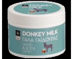Βodyfarm  Donkey Milk Κρέμα Σώματος και Χεριών απο Γάλα Γαϊδούρας 200ml