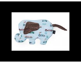 Little Luxuries Βρεφικό Μαξιλαράκι σε Σχήμα Ελέφαντα με Αυτοκινητάκια, 1τμχ