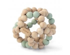 Trixie, Wooden Beads Ball, Ξύλινη Μπαλίτσα Δραστηριοτήτων, 6m+, Mint, 1τμχ.