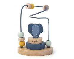 Trixie Wooden Beads Maze, Βρεφικό Ξύλινο Παιχνίδι, Μrs Elephant, 12m+, 1τμχ.
