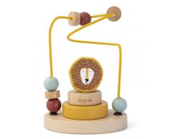 Trixie Wooden Beads Maze, Βρεφικό Ξύλινο Παιχνίδι, Μr Lion, 12m+, 1τμχ.