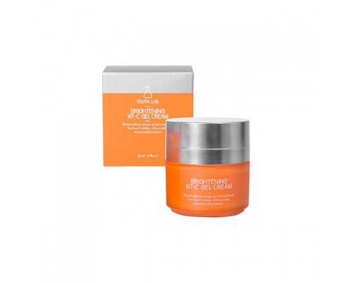 Youth Lab Brightening Vit-C Gel Cream, Ενυδατικό Κρεμοτζέλ με Βιταμίνη C, 50ml