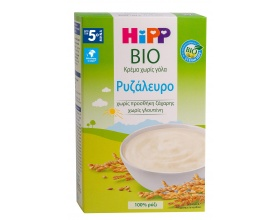Hipp Bio Κρέμα Ρυζάλευρο χωρίς Γάλα 200gr