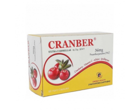 Medichrom Cranber Extra Farmellas Συμπλήρωμα Διατροφής με Εκχύλισμα από Cranberries 60 Κάψουλες