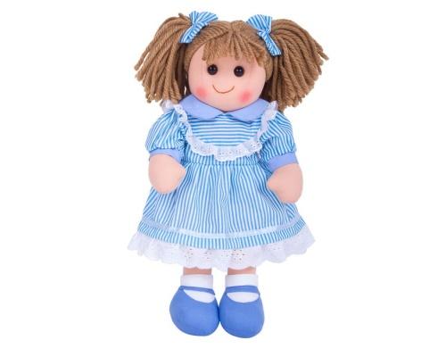 Big Jigs Toys, Amelia  Πάνινη Κούκλα 38cm 1τμχ