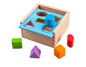 Big Jigs Toys Κουτί με Σχήματα 12m+, 1τεμ
