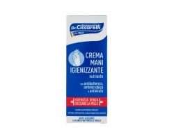 Dottor Ciccarelli Hand Sanitizing Cream Κρέμα Χεριών με Απολυμαντική Δράση χωρίς αλκοόλη 75ml
