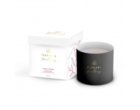 Fleriana Aroma Calm & Peace Natural Candle Φυσικό Κερί Χώρου με Υπέροχο Άρωμα που Διαρκεί, 235ml