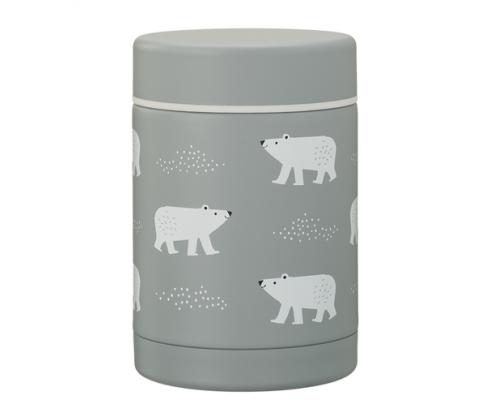 Fresk, Θερμός Φαγητού από Ανοξείδωτο Ατσάλι, FD100-17, Polar Bear, 300ml.