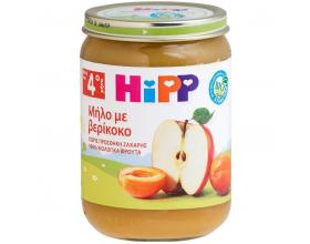 Hipp, Βρεφικό Γεύμα Φρούτων με Μήλο & Βερίκοκο, Χωρίς Προσθήκη Ζάχαρης, από τον 5ο Μήνα, 190gr.