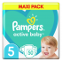 Pampers, Active Baby Maxi Pack No 5 11-16Kg, 50 Πάνες.