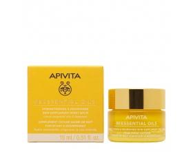 Apivita Beessential Oils Balm Προσώπου νύχτας συμπλήρωμα ενδυνάμωσης & θρέψης με αιθέρια έλαια εσπεριδοειδών & πρόπολη 15 ml
