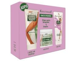 Krauterhof Promo Box Πλήρες Πακέτο Κυτταρίτιδας & Σύσφιξης, 2x200ml + 1x250ml