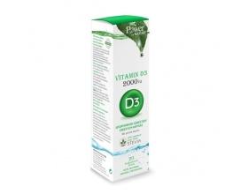 Power of Nature Vitamin D3 2000iu Συμπλήρωμα Διατροφής με Βιταμίνη D3 2000iu απορρόφηση ασβεστίου & ενίσχυση άμυνας  20 αναβράζοντα δισκία