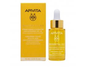 Apivita Beessential Oils Έλαιο Προσώπου Ημέρας με αιθέρια έλαια εσπεριδοειδών & πρόπολη 15 ml