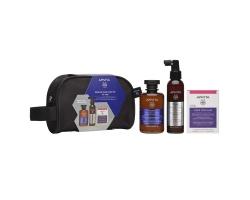 Apivita Rescue Hair Loss Kit for Men Ολοκληρωμένη φυσική φροντίδα κατά της τριχόπτωσης για άνδρες 3 προιόντα