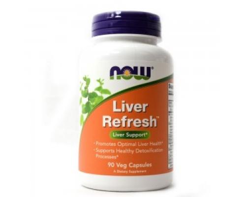 Now Foods Liver Detoxifier & Regenerator, Συμπλήρωμα Διατροφής για την υγιή λειτουργία του ήπατος, 90 κάψουλες