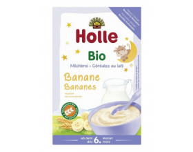 Holle, Βιολογική Βρεφική Κρέμα Με Μπανάνα & Γάλα, Απο 6 Μηνών, 250 gr.