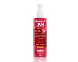 Histoplastin Sun Protection Tanning Dry Oil Body Satin Touch SPF15 Ξηρό Λάδι για γρήγορο μαύρισμα, απορροφάται άμεσα 200ml