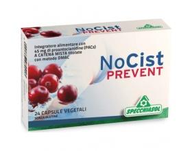 Specchiasol NoCist Prevent Συμπλήρωμα διατροφής  φόρμουλα κράνμπερι σε κάψουλες με βάση εκχυλίσματα φυτών για την εύρυθμη λειτουργία του ουροποιητικού συστήματος 24 veg. caps