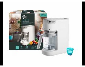 Tommee Tippee Steamer Blender Ατμομάγειρας & Μπλέντερ Φαγητού Χρώμα Λευκό, 42323851, 1τμχ.