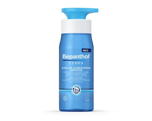 Bepanthol DERMA Απαλός Καθαρισμός σώματος για ξηρό ευαίσθητο δέρμα χωρίς σαπούνι 400 ml