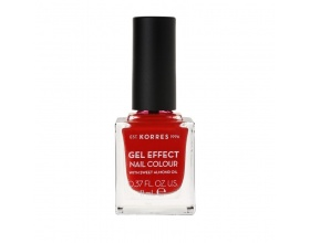 Korres Gel Effect Nail Colour No.53 Royal Red Βερνίκι Νυχιών, 11ml