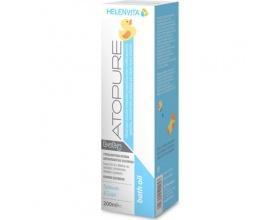 HELENVITA  Atopure Baby Bath oil Ελαιώδες αφρόλουτρο ειδικά σχεδιασμένο για το πολύ ευαίσθητο δέρμα 200ml