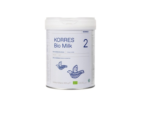 KORRES Bio Milk 2 Bιολογικό γάλα 2ης βρεφικής ηλικίας από 6 -12 μηνών 400gr
