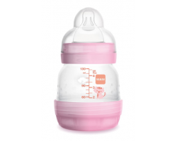 Mam Easy Start Anti-Colic, Πλαστικό Μπιμπερό, Χρώμα Ρόζ, 0m+, 353S, 130ml.