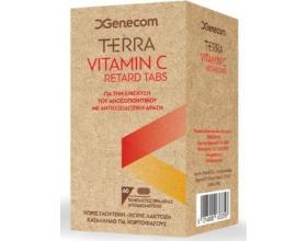 Genecom Terra Vitamin C Για τη Ενίσχυση του Ανοσοποιητικού με Αντιοξειδωτική Δράση, 60tabs
