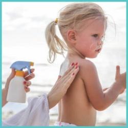 Παιδικό Αντηλιακό (πρόσωπο και σώμα)
