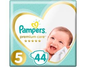 Pampers Premium Care Πάνες Μέγεθος 5 (Junior) 11-18 kg, 44 Πάνες.