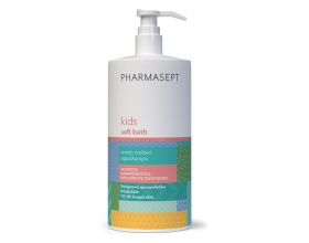 Pharmasept Kids Soft Bath Aπαλό παιδικό αφρόλουτρο με ήπιους καθαριστικούς & ενυδατικούς παράγοντες 1L