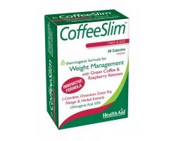 Health Aid Coffee Slim Συμπλήρωμα Διατροφής για Αδυνάτισμα και Υγιή Μεταβολισμό, 60 κάψουλες