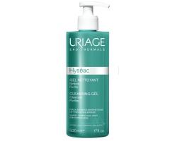 Uriage Hyseac Cleansing Gel Απαλό καθαριστικό Gel, για το καθαρισμό λιπαρών με τάση ακμής επιδερμίδων 500ml & ΔΩΡΟ Hyseac 3-Regul Soin Global  Κρέμα Τριπλής Δράσης, 15ml