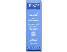 URIAGE, Cu-Zn+ Bebe Spray Anti-Irritations, Spray κατά των ερεθισμών που δημιουργούνται σε υγρές περιοχές & πτυχές, για νεογνά, βρέφη, παιδιά καθώς & ενήλικες, 100ml