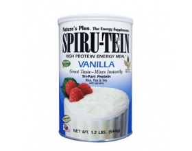 Nature's Plus Spiru-Tein Vanilia 1,2lb Συμπλήρωμα Διατροφής Ιδανικό Προϊόν για Δραστήρια Άτομα και Αθλητές, Με Γεύση Βανίλιας  544gr