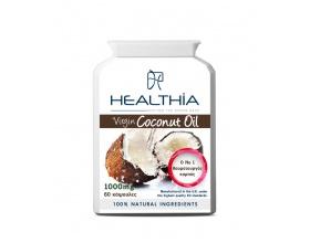Healthia Virgin Coconut Oil 1000mg Συμπλήρωμα διατροφής με έλαιο καρύδας 60caps