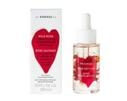 Korres, Άγριο Τριαντάφυλλο, Λάδι Προσώπου για Λάμψη & Βαθιά Ενυδάτωση, 30ml