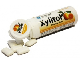 Xylitol, Chewing Gum Fruit, Fresh Fruit, 30 τσίχλες